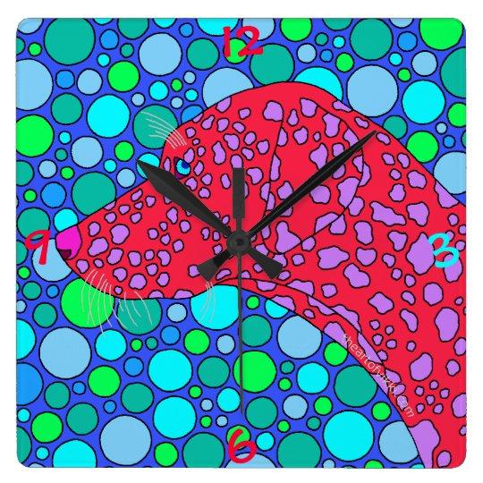 z Colourful Dalmatian Polka Dot Dog Art Decor