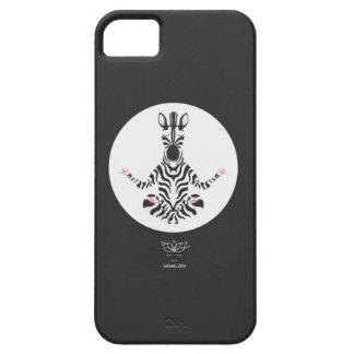 Z is for glamorous Zebra iPhone 5 Cover