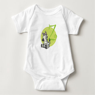 Z is for Zebra Baby Bodysuit