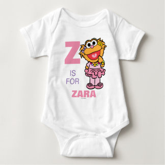 Z is for Zoe | Add Your Name Baby Bodysuit