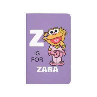 Z is for Zoe | Add Your Name Journal