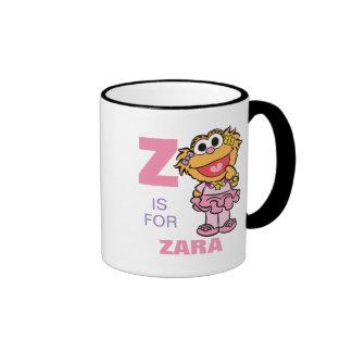 Z is for Zoe Ringer Mug