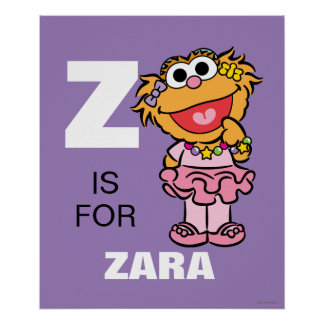 Z is for Zoe Poster