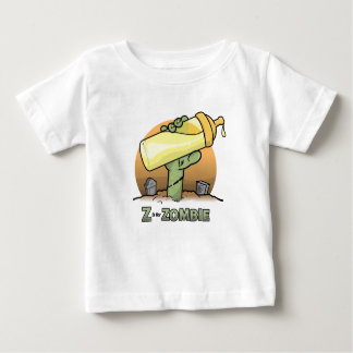 """""""Z"""" is for Zombie """"Bottle"""" Infant T-Shirt"""