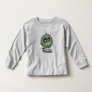 """Z"" is for Zombie (Boys) Infant Long Sleeve Toddler T-Shirt"