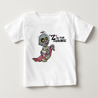 """""""Z"""" is for Zombie with Blanket (Girls) T-Shirt"""