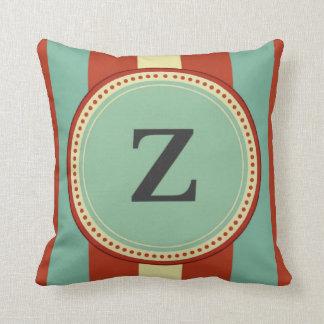 'Z' Monogram Cushion