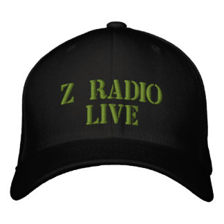 Z Radio Live army hat Embroidered Cap
