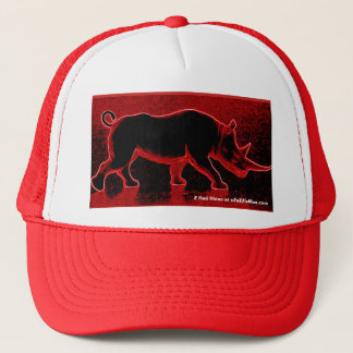 Z Red Rhino Trucker's Hat at eZaZZleMan.com