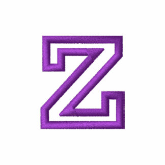 """Z"" Small Athletic Letter"