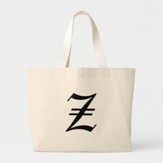 Z-text Old English Large Tote Bag
