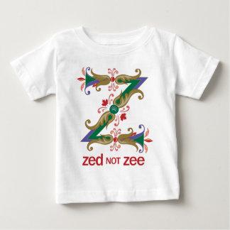 Z - zed not zee baby T-Shirt