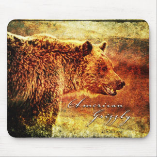 ZA-Grizzly Etch-MP Mouse Pad