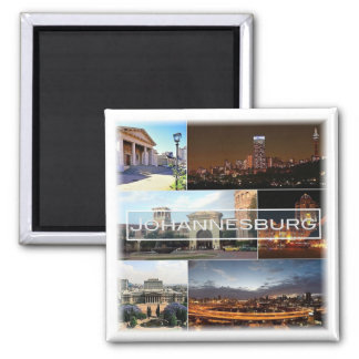 ZA * South Africa - Johannesburg Joburg Magnet