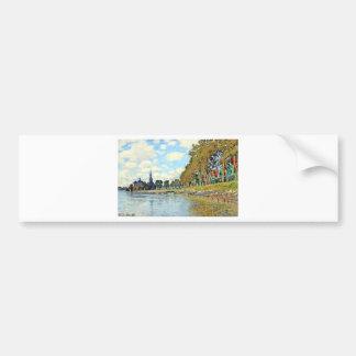 Zaandam by Claude Monet Bumper Sticker
