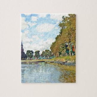 Zaandam by Claude Monet Jigsaw Puzzle