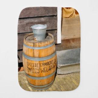 Zaanse Schans Spice Warehouse Barrel Baby Burp Cloths