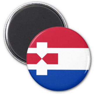 Zaanstad Netherlands, Netherlands 6 Cm Round Magnet