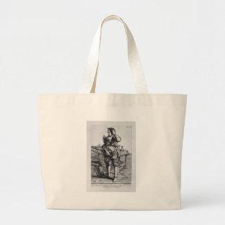 Zabaglia caricature of Nicholas, the Reverend Jumbo Tote Bag