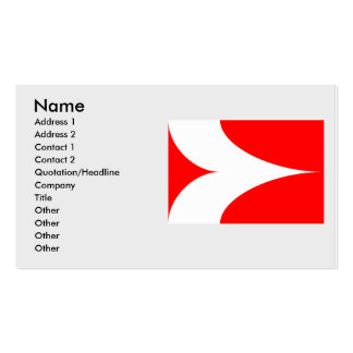 Zabcice, Czech Pack Of Standard Business Cards