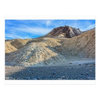 Zabriskie Point Area Photo Postcard