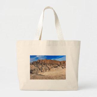 Zabriskie Point Badlands View Tote Bags