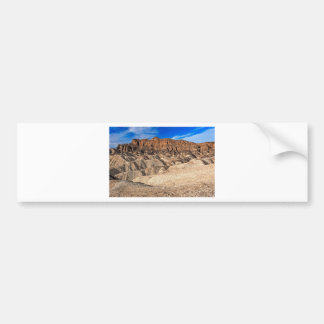 Zabriskie Point Badlands View Bumper Stickers