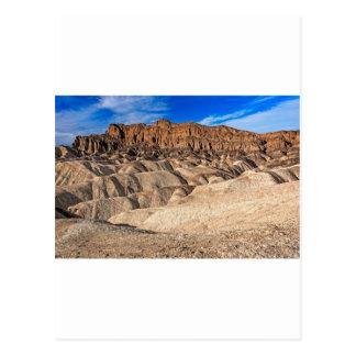 Zabriskie Point Badlands View Postcard