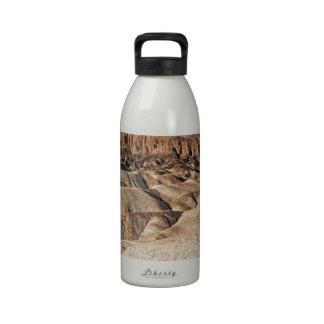 Zabriskie Point Badlands View Reusable Water Bottles