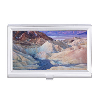 Zabriskie Point Before Dawn Business Card Holder
