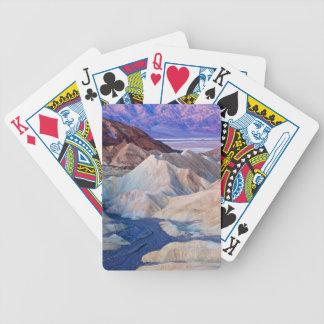 Zabriskie Point Before Dawn Deck Of Cards