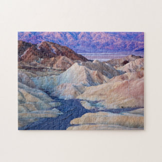 Zabriskie Point Before Dawn Jigsaw Puzzle