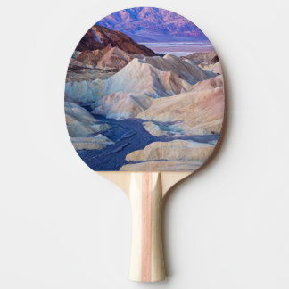 Zabriskie Point Before Dawn Ping Pong Paddle