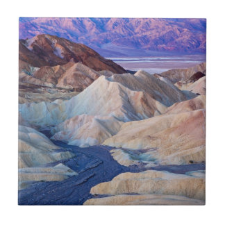 Zabriskie Point Before Dawn Small Square Tile