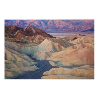 Zabriskie Point Before Dawn Wood Wall Decor
