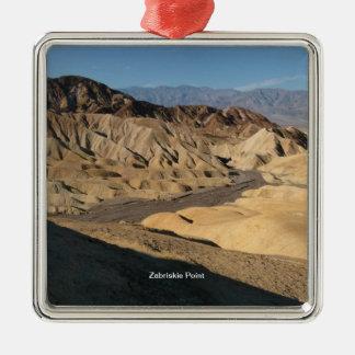 Zabriskie Point - Death Valley, California Christmas Ornament