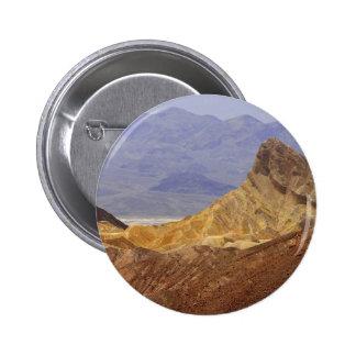 Zabriskie Point Death Valley Deserts 6 Cm Round Badge
