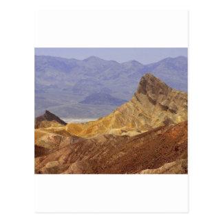 Zabriskie Point Death Valley Deserts Postcard