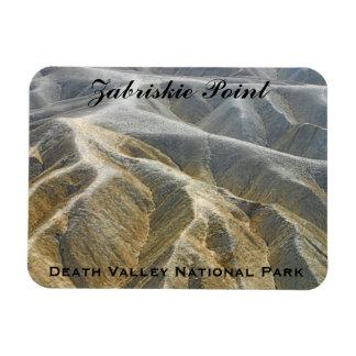 Zabriskie Point in beauty Death Valley Nat'l Park Rectangular Photo Magnet
