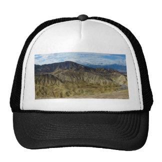Zabriskie Point in Death Valley California Cap