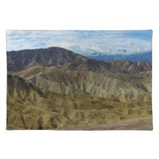 Zabriskie Point in Death Valley California Place Mat