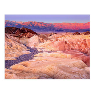 Zabriskie Point Near Death Valley California Postcard