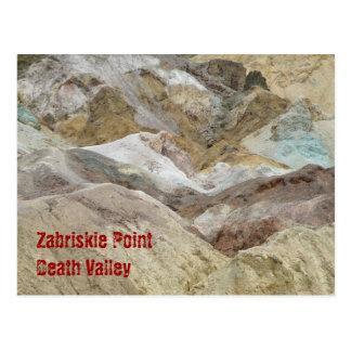 Zabriskie Point Post Card