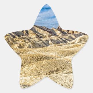 Zabriskie Point Star Sticker
