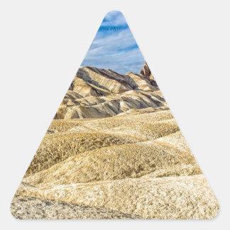 Zabriskie Point Triangle Sticker