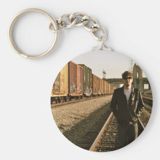 Zac Main Photo Key Ring