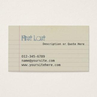 Zach Business Card