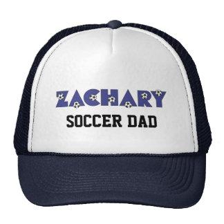 Zachary in Soccer Blue Cap