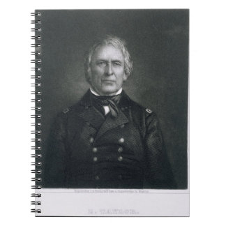 Zachary Taylor, engraved after a daguerrotype by T Notebook