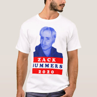 Zack Summers 2020 Campaign T-Shirt